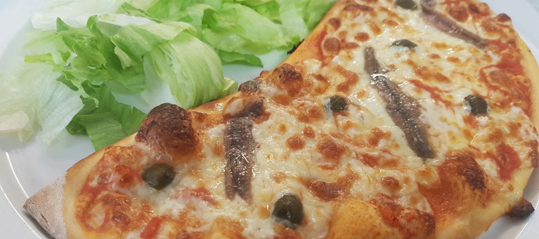 Formule Mezzo Pizza