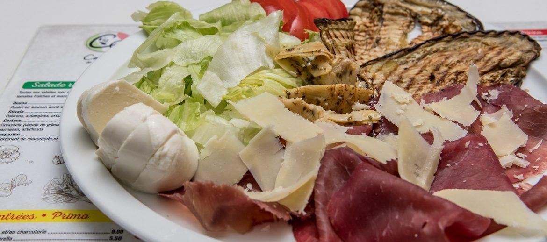 Salade repas Cortese